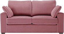 Jalouse Maison   Serena 2-Sitzer-Sofa rosa