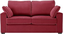 Jalouse Maison   Serena 2-Sitzer-Sofa rot
