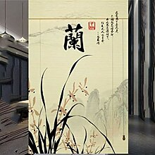Jalousien Gedruckte Bambusvorhangrolle, Trennwand