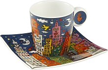 James Rizzi Espressotasse mit Untertasse City