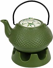 Jameson & Tailor Japanische Teekanne mit Stövchen