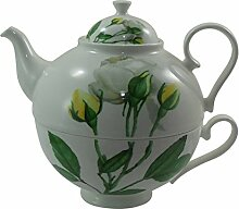 Jameson & Tailor Tea for one - Dekor Rose gelb -