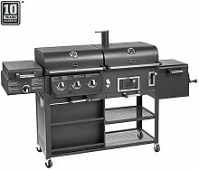 Jamestown DRAKE Kombistation mit Smoker, Gas- und