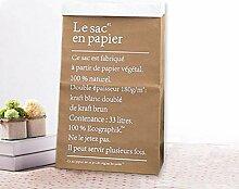JameStyle26 Aufbewahrungsbox Papiersack
