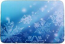 Jamicy® Weihnachten HD bedruckte rutschfeste Badematte Badematten / Badvorleger / Badteppich Absorbent Home Decor 40*60cm (C1)