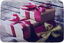 Jamicy® Weihnachten HD bedruckte rutschfeste Badematte Badematten / Badvorleger / Badteppich Absorbent Home Decor 40*60cm (C2)