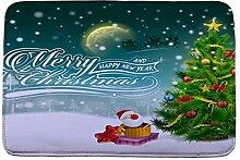 Jamicy® Weihnachten HD bedruckte rutschfeste Badematte Badematten / Badvorleger / Badteppich Absorbent Home Decor 40*60cm (E2)