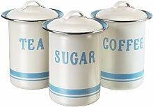 Jamie Oliver JB8910 Retro Dosenset für Kaffee, Tee und Zucker