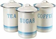 Jamie Oliver JB8910 Retro Dosenset für Kaffee,