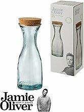 Jamie Oliver - Karaffe 0, 8L - aus recyceltem Glas