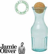Jamie Oliver Karaffe 1 Liter mit Korkdeckel -