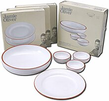 Jamie Oliver Tellerservice Geschirr Set für 6