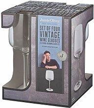 Jamie Oliver Weißweingläser, transparent,