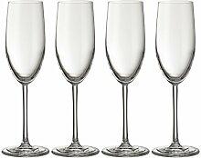 Jamie Oliver Wellen Champagner Flöte 4 x 250