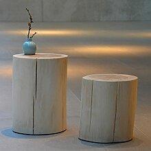 Jan Kurtz 490171 Hocker, Holz, natur, 29 x 29 x 46 cm