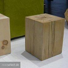 Jan Kurtz 490176 Hocker, Holz, Braun, 29 x 29 x 40 cm