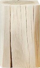 Jan Kurtz - Block Hocker eckig 29 x 29 x 46 cm, Kernesche massiv