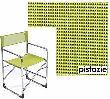 Jan Kurtz, Fiam, Regie, Regiesessel, Alugestell, Textilenebezug Pistazie, Lime, 495526, Klappbar