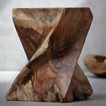 Jan Kurtz Hocker, Holz, Braun, 30 x 30 x 40 cm