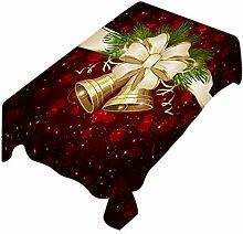 Jancery Weihnachtstischdecke für Esszimmer,