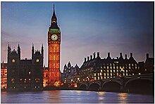 Jandei Big Ben London Turm LED-Bild mit 8 LEDs