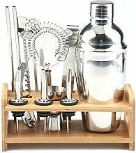 JANDH Edelstahl Cocktail Shaker Set Bartending Kit