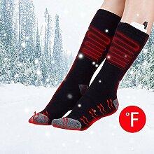 Jannyshop Elektrische beheizte Socken Einstellbare