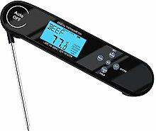 JANRON Digital Fleischthermometer, Instant Read