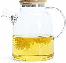 JANRON Glaskaraffe Glaskrug aus Borosilikatglas