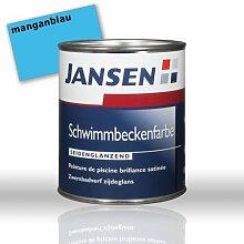 JANSEN Schwimmbeckenfarbe 2,5L Farbe: manganblau