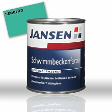 JANSEN Schwimmbeckenfarbe 2,5L Farbe: seegrün