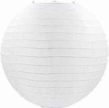 JAP768 Weiße Farbe Chinesische Papierlaternen