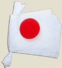 Japan, japanische Flagge, Polyester, Wimpelkette,