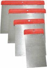 Japan-Spachtel-Set, 50-80-100-120 mm