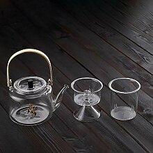 Japan Teekanne Hitzebeständige Glas-Teemaschine,