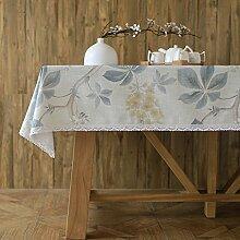 Japaner- garten blumen und vögel modern einfach tischtuch mahlzeit tisch kaffee tisch tuch staub-beweis-E 100x160cm(39x63inch)