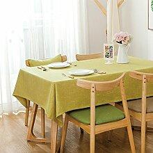 Japaner Volltonfarbe Tischdecken,Staubdicht