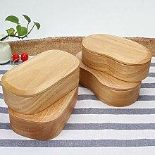 Japanisch-artige Brotdose japanische hölzerne