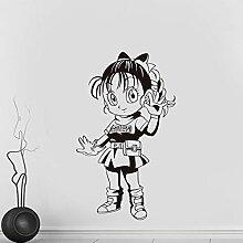 Japanische Anime Cartoon Dragon Ball Mädchen