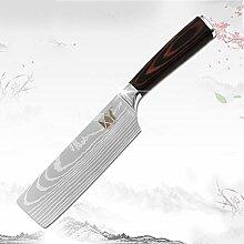 Japanische Edelstahl Küchenmesser Hackmesser