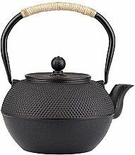 Japanische Eisen-Teekanne mit Edelstahl-Aufguss