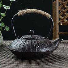 Japanische Eisen-Teekanne mit rostfreiem