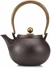 Japanische Gusseisen-Teekanne - Großer