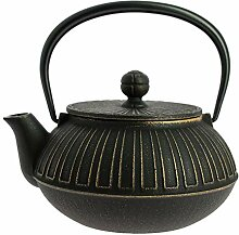 Japanische Gusseisen Teekanne Iwachu Kiku