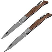 Japanische handgefertigte Holzgriff Taschenmesser