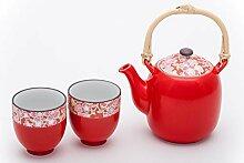 Japanische Kirschblüte Sakura Tee-Set Keramik
