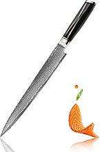 Japanische Lachs Sushi Messer Damaskus Stahl VG10