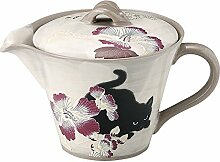Japanische seto-yaki Teekanne aus Keramik
