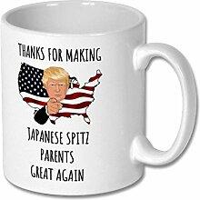 Japanische Spitz-Tasse, japanische Spitz-Tasse,
