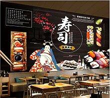 Japanische Sushi-Thema-Wandbild-Tapete für